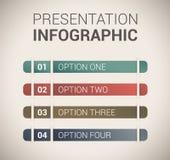 Modernt mjukt färgar designmallen/infographics Royaltyfri Bild