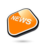 Modernt nyheternatecken Arkivfoto