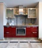 modernt nytt för kök Arkivbilder
