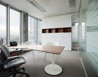 modernt nytt kontor Arkivbild