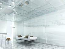 modernt nytt kontor 3d vektor illustrationer