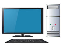 modernt personligt för dator Royaltyfria Foton