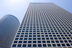 modernt perspektiv för byggnader Arkivfoto