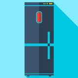 Modernt plant kylskåp för symbol för designbegrepp Royaltyfria Bilder