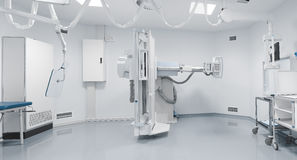 Modernt röntgenstrålerum royaltyfri bild