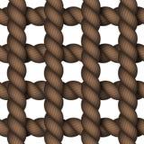 Modernt rep för vektor på vit bakgrund Royaltyfria Bilder