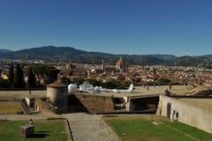 Modernt samtida konstutställning i Florence, Italien Fotografering för Bildbyråer
