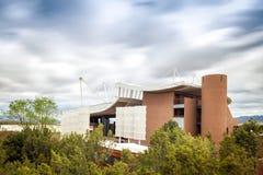 Modernt Santa Fe Opera som är ny - Mexiko royaltyfri bild