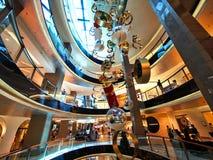Modernt shoppinggalleriajulpynt, Sydney, Australien royaltyfria bilder
