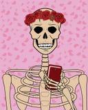 Modernt skelett Royaltyfri Illustrationer