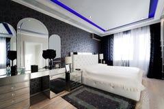 modernt sovrum Royaltyfri Bild