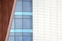 modernt stads- för arkitektur abstrakt bakgrund Royaltyfri Bild