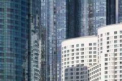 modernt stads- för arkitektur Abstrakt begrepp Royaltyfri Foto