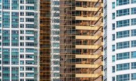 modernt stads- för arkitektur Abstrakt begrepp beskådar Royaltyfri Bild