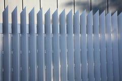 modernt staket Royaltyfria Foton
