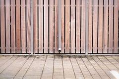 Modernt staket arkivbilder
