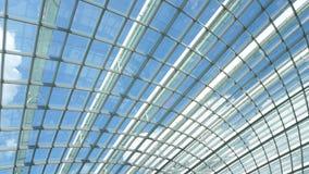 modernt tak för arkitektur Arkivfoto