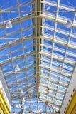 modernt tak för konstruktion Fotografering för Bildbyråer