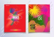 Modernt tecken för sommarfestivalkarneval stock illustrationer