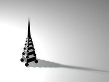Modernt torn royaltyfri illustrationer