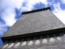 modernt torn för klockadomkyrka Arkivfoton