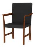 modernt trä för stol Royaltyfri Bild