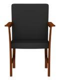 modernt trä för stol Royaltyfria Bilder