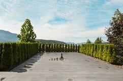 modernt utomhus- för hus royaltyfri foto