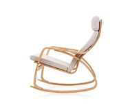 modernt vaggande för stol arkivbild