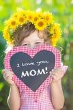 Moders dag fotografering för bildbyråer