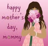 Moders dag och liten flicka Royaltyfri Fotografi