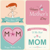 Moders kort för dag Arkivfoto