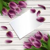 Moders kort för dag Royaltyfri Fotografi