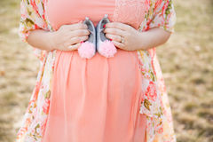Moderskapstående Arkivfoton