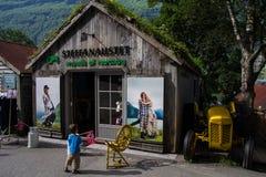 Modes de la Norvège dans Geiranger Photo stock