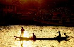Modes de vie de la rivière de Tapi Image libre de droits