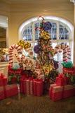 Modes pour des plantes vertes au  de Roanoke†d'hôtel de  de theâ€, 2016 Photographie stock libre de droits