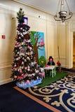 Modes pour des plantes vertes au  de Roanoke†d'hôtel de  de theâ€, 2016 Images libres de droits