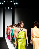 Modeschau Lizenzfreies Stockbild