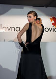 Modeschau in Serbien Stockfotografie