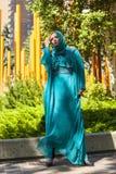 Modeschau vom Fernen Osten Stockfotografie