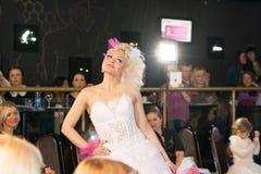 Modeschau in Weißrussland Lizenzfreie Stockfotografie