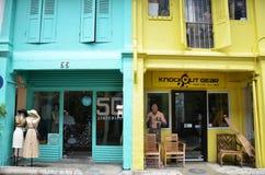 Modeshop, der in Haji Lane ist Lizenzfreie Stockfotografie