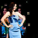 Modeshow royalty-vrije stock foto's