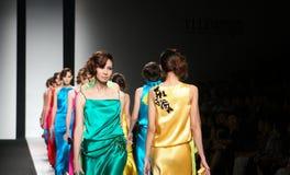 Modeshow royalty-vrije stock fotografie