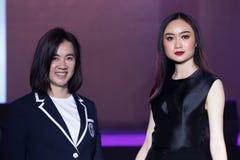 Modeshow 2019 för passion för Chalachol akademihår royaltyfri bild