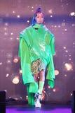 Modeshow 2019 för passion för Chalachol akademihår arkivbilder