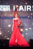 Modeshow 2019 för passion för Chalachol akademihår arkivfoton
