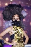 Modeshow 2019 för passion för Chalachol akademihår arkivfoto