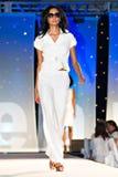 Modeshow van de Weg van Saks de Vijfde Stock Foto